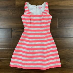 Lilly Pulitzer Floral Stripe Joslin Dress